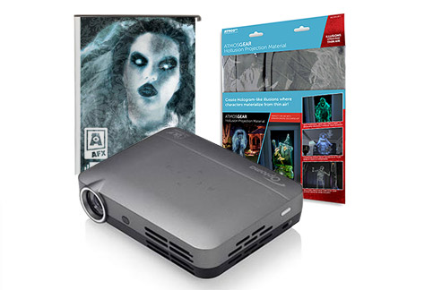 Optoma Halloween Projector Bundle