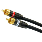 Comprehensive Video XHD Stereo RCA Audio Cable, 25ft