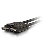 Cables To Go 10ft DisplayPort Male to HDMI Male Adapter Cable