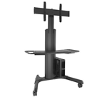 Chief Manufacturing Large Fusion Manual Height Adj. Mobile AV Cart