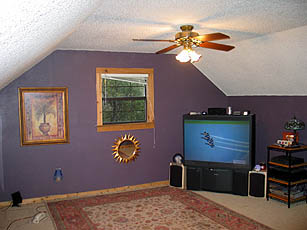 Say Hello To Home Theater Projectors Before Shot Of Blansett Living Room With Standard Rear Projection TV