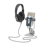AKG Podcaster Essentials Lyra Microphone & Headphones