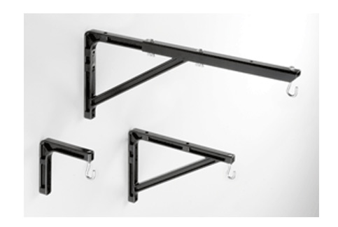 Da-Lite No. 6 Wall Brackets Blk