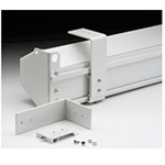 Da-Lite White Floating Mounting Bracket for Model C
