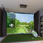 OptiShot 360 Golf Simulation