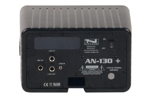 Anchor Audio Black Speaker Monitor w/ Remote Control