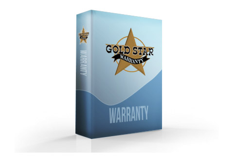 Gold Star 1 Year Extended Warranty - Under $3,500