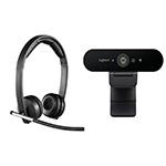 Logitech Headset and Webcam Bundle