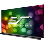Elite 90 Inch Diagonal Thin Edge Dry-Erase Screen