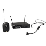 Shure Combo Syst. w/ Bodypack, Receiver & Microphone