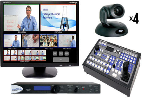 Vaddio+4+PTZ+Camera+Bundle