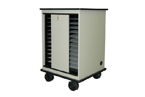 MediaTech+24+Place+Laptop+Storage+Cart