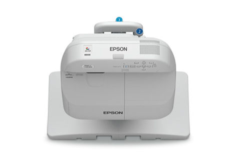 Epson+BrightLink+Pro+1420Wi+with+Table+Mount Projector