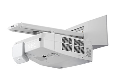 NEC+NP%2DUM361X%2DWK+Ultra+Short+Throw+w%2F+Wall+Mount Projector