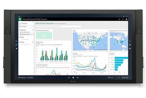 Microsoft+Surface+Hub+%2D+84+inch+4K+Interactive+Display