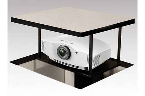 Draper+Credenza+Projector+Lift