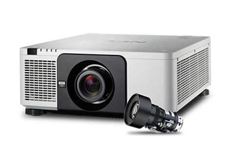 NEC+NP%2DPX803UL+White+with+NP18ZL+zoom+lens Projector