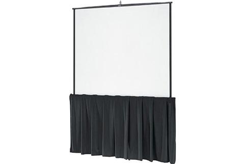 Da%2DLite+Black+Tripod+Skirt+for+60%22+wide+screens