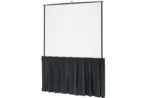 Da%2DLite+Black+Tripod+Skirt+for+70%22+wide+screens