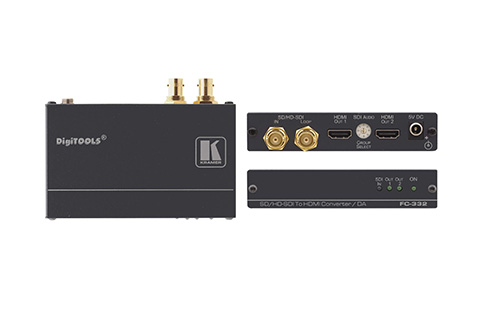Kramer+Electronics+FC%2D332+3G+HD%2DSDI+to+HDMI+Format+Converter