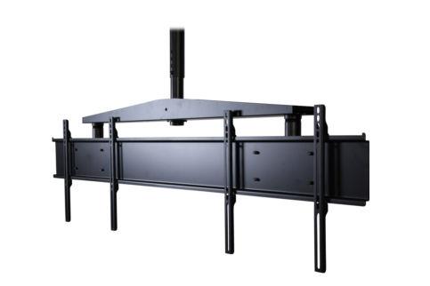 Peerless+Dual+Display+Ceiling+Display+Mount+37%2D46+inch