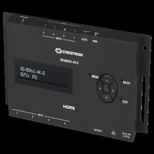 Crestron+4x1+4K+HDMI+Switcher