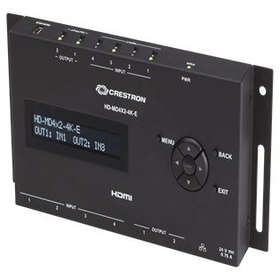 Crestron+4x2+4K+HDMI+Switcher
