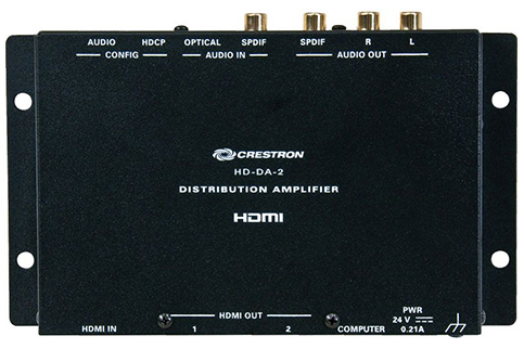 Crestron 1-to-2 HDMI Distribution Amplifier & Audio Conve HD