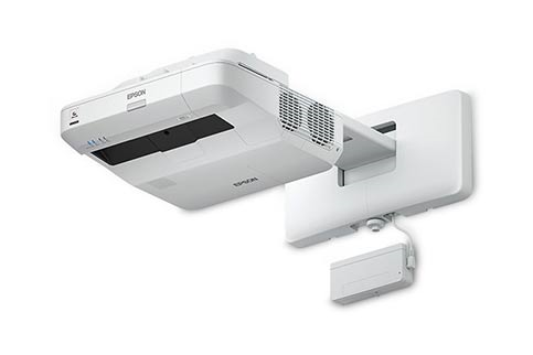 Epson+BrightLink+697Ui+w%2F+Wall+Mount Projector