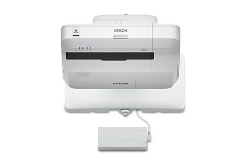 Epson+BrightLink+Pro+1460Ui+w%2F+Wall+Mount Projector