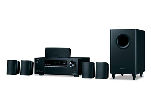 Onkyo+5%2E1%2DChannel+Home+Theater+Receiver%2FSpeaker+Package