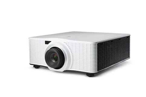 Barco+G60%2DW7+White+Laser+W%2FOut+Lens Projector