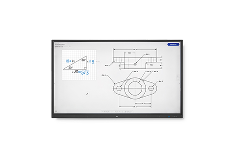 NEC+CB861Q+86%22+Collaborative+Display