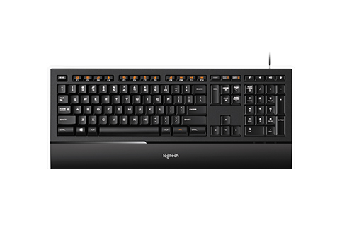 Logitech+ILLUMINATED+KEYBOARD+K740