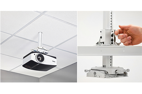 Chief+Manufacturing+SYS474UW+Suspended+Ceiling+Projector+System+