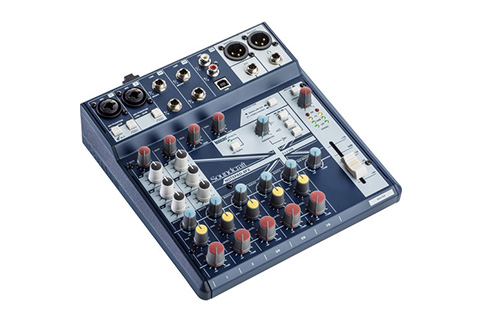 Soundcraft+Notepad%2D8FX+Mixer+with+Effects