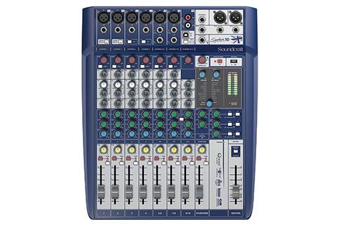 Soundcraft+Signature+10+Compact+analogue+mixing+