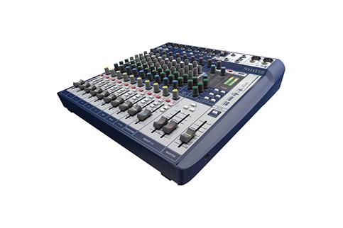 Soundcraft+Signature+12+Compact+analogue+mixing+
