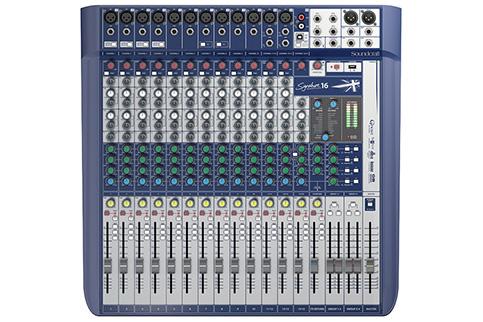 Soundcraft+Signature+16+Compact+analogue+mixing