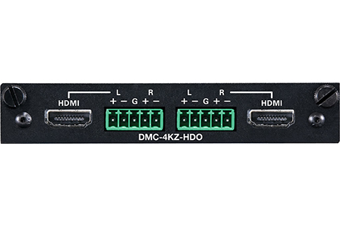 Crestron+2%2DChannel+HDMI+4K60+4%3A4%3A4+HDR+Scaling+Output+Card+