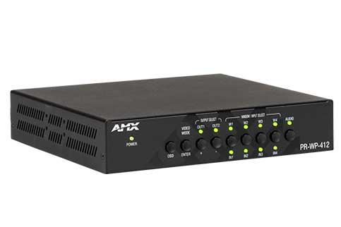 AMX+PR%2DWP%2D412+4x1%3A2+4K60+Windowing+Processor