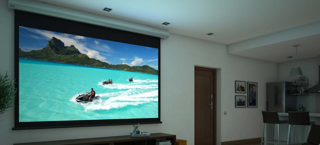 1 series motorized Screen Innovations screen