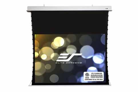 Projector People: Elite Projector Screen - Evanesce Tab-Tension