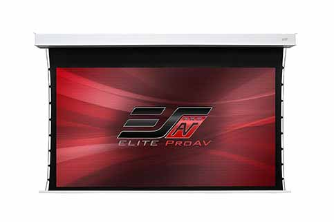 Projector People: Elite Projector Screen - Evanesce Tab-Tension ALR