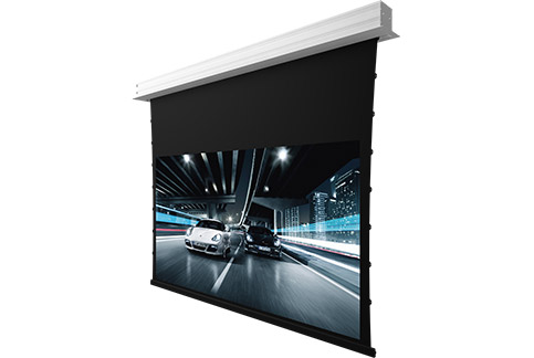 Projector People: Screen Innovations Projector Screen - 5 Series Motorized - Slate