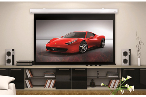 Projector People: Screen Innovations Projector Screen - 1 Series Motorized