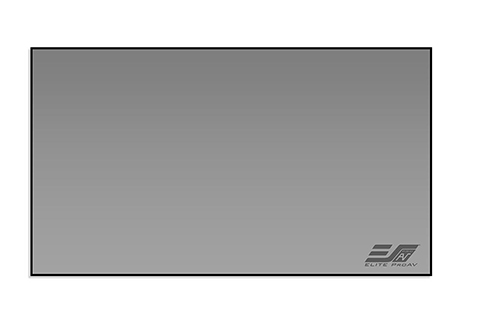 Projector People: Elite Projector Screen - Pro Frame Thin DarkStar UST