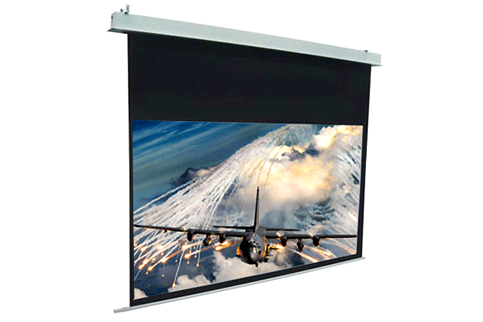 Projector People: Elite Projector Screen - Evanesce Electric Screen