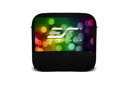Projector People: Elite Projector Screen - Pop-Up Cinema