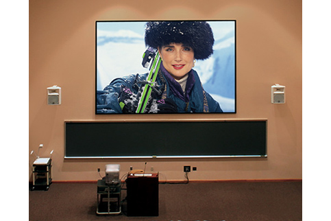 Projector People: Draper Projector Screen - ShadowBox Clarion